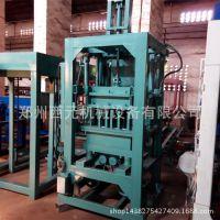 大型免烧制砖机设备生产线 优质全自动液压制砖机-空心砌块砖