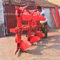拖拉机后悬挂液压翻转犁 液压翻转双面深耕犁 液压栅条犁生产厂家
