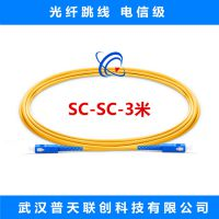 【联创】光纤跳线 SC/UPC-SC/UPC SM 单模 电信级 3米 生产厂家
