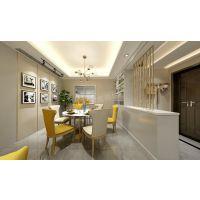 招商江湾城装修,江北天古装饰150平米洋房设计案例,天古装饰现代简约风格