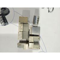 ERNI连接器无焊压接214443母头40针