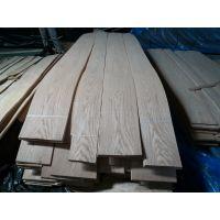 厂家直供红橡山纹木皮 贴密度板免漆木饰面板木皮