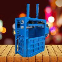 驰航厂家直营立式打包机 多功能纸箱金属打包机 铁屑易拉罐挤压成型机