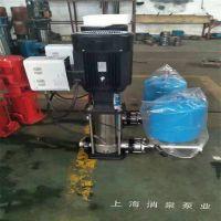 轻型离心泵 50CDL16-130不锈钢立式管道泵 标准国标电机