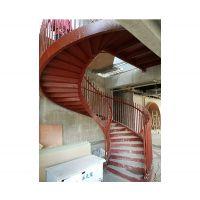 旋转楼梯安装-安徽得心公司-无锡旋转楼梯