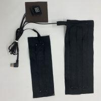 定制碳纤维发热片马甲服装电热片电热片发热片厂家直销一拖二