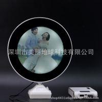 魔镜相框LED台灯镜框高清镜子亮时变身相框台灯开灯一副照片人像
