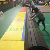 盘固体育 体操垫跆拳道垫柔道垫摔跤垫 厂家直供可定制LOGO印刷