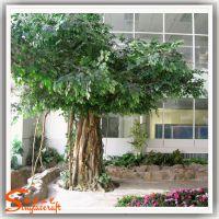 仿真树制作 人造树景观 仿真榕树定制 价格公道 大堂装饰