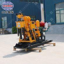 鲁探地质岩芯勘探钻机HZ-130YY可移机式全液压打井机 家用转井设备
