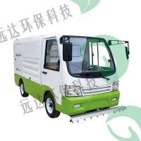 高温高压清洗车郑州电动小型高温高压冲洗车