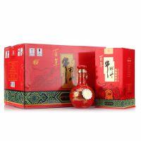 牛栏山三十年窖藏30年盛世红清香型53度二锅头白酒500ml*6瓶整箱