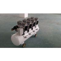特价兄弟豹无油静音空压机移动活塞式空压机 XDW800x4-90L