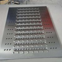 沧州瀚博冷弯专业生产不锈钢地沟盖板成型设备