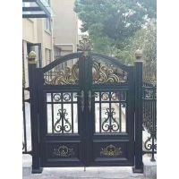 专业生产铝合金大门. 铝艺别墅大门 铝艺围栏