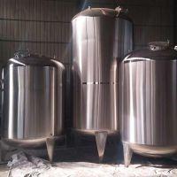 济南加工定做不锈钢储奶罐 不锈钢牛奶储罐食品储罐