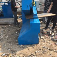 200吨鳄鱼剪切机液压缸废橡胶自动剪切机轻薄废料小型鳄鱼剪