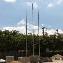 耀恒 304不锈钢旗杆批发 室外锥形旗杆 15米