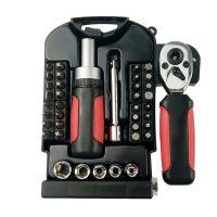 家用工具stubby set 棘轮板手活动扳手维修工具40pc短柄工具组套