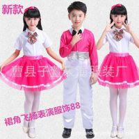 新款儿童合唱服演出服装中小学生幼儿男女诗歌朗诵比赛表演服