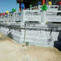 专业厂家生产各种款式石栏杆 园林寺庙栏杆 刻花石头栏杆