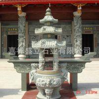 供应祭祀用香炉供桌 方型圆形仿古香炉 寺庙奉供香炉