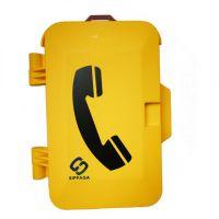 地铁隧道专用公务检修电话,轨旁电话机,地铁区间电话机,带门盖的防水电话