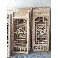 成都实木仿古门窗生产厂家_木雕花格窗_花窗样式设计
