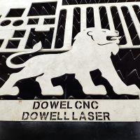 DOWELLLAS钣金加工厂家专用大功率光纤激光切割设备 数控交换平台激光切割机价格
