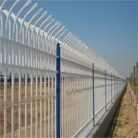 组装式铁艺围栏 镀锌铁管小区护栏网 社区围墙隔离网