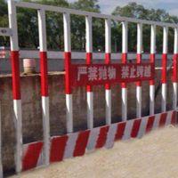 鲁恒 基坑护栏图片 建筑基坑护栏间距 基坑护栏图纸