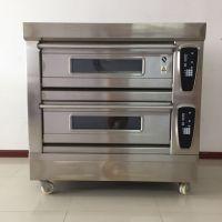 上海研麦供应二层四盘不锈钢多功能烤箱