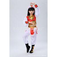 成人儿童锦戏女表演服蒙古舞蹈演出服装民族舞台服筷子舞骑马裤装