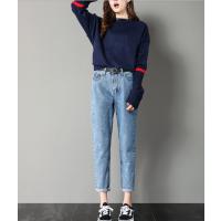 四季牛仔裤批发更新价格东莞厂家韩版牛仔裤适合摆地摊一手货源牛仔裤