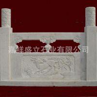 低价销售各种样式石雕栏杆 大理石寺院别墅阳台栏杆