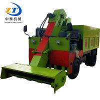 新型环保设备柴油吸粪车 三轮式驾驶式清粪车 可移动刮粪车
