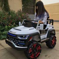新款大型双座儿童电动车四轮四驱越野遥控可坐人汽车宝宝童车玩具