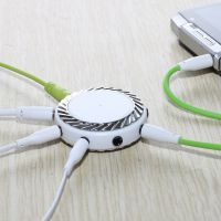 雷思尼耳机分线器一分九转换器1分7情侣分享器音频转接头线麦克风