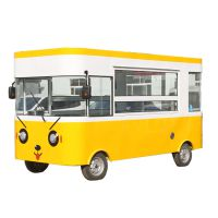 德州盾元商贸定制大型四轮电动小吃车