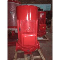 中学建筑泵房消防泵XBD5.8/25-100L(W)室内调试喷淋泵/安装稳压泵是否正确