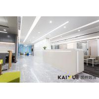 天泰贸易公司国际化的办公室装修-实景图片