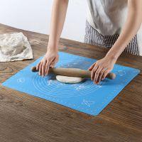 洪客烘焙工具耐高温硅胶揉面垫加厚防滑擀面大号案板和面铂金烤盘