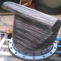 免维护法兰式橡胶鸭嘴阀 dn1200橡胶排污止回阀 开启压力小鸭嘴式逆止阀厂家