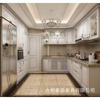 厂家直销欧式整体厨房橱柜定制高品质纯实木门板橱房厨柜定做