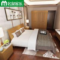 简约现代3318床头 3318床箱大连板式家具工厂直销供应优质高密度纤维板