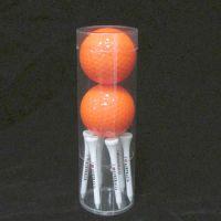 现货批发高尔夫球包装圆筒 PVC吸塑圆筒定做透明圆形包装盒
