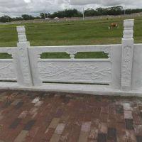 厂家直销加工青石石雕 石栏杆 建筑河道桥边栏杆 景区手扶护栏