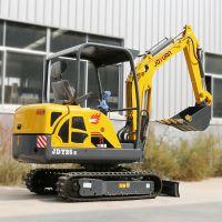 履带式小型挖掘机旋转型 路面工程微型挖机 小挖沟机性能良好