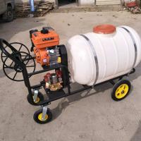 澜海牌汽油手推式打药机 农用汽油喷雾器型号