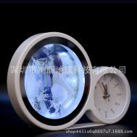 魔镜相框摆台个性台灯婚纱影楼USB插电LED灯箱时光宝盒相框梳妆镜